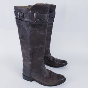 Frye Spectacular Tall Frye Shirley Strappy Boots 8